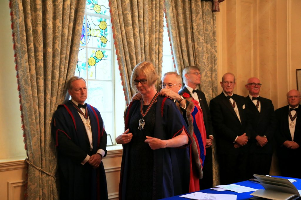 New Junior Warden, Fiona Morrison