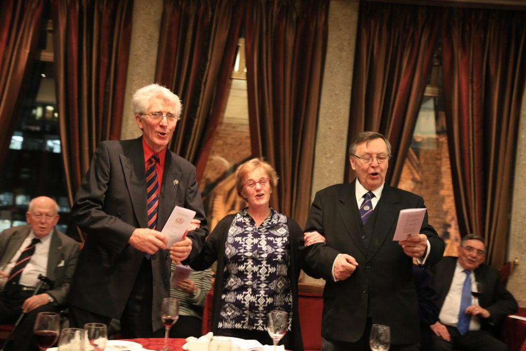 "Carol ""sing song"" after supper 14.12.2017"