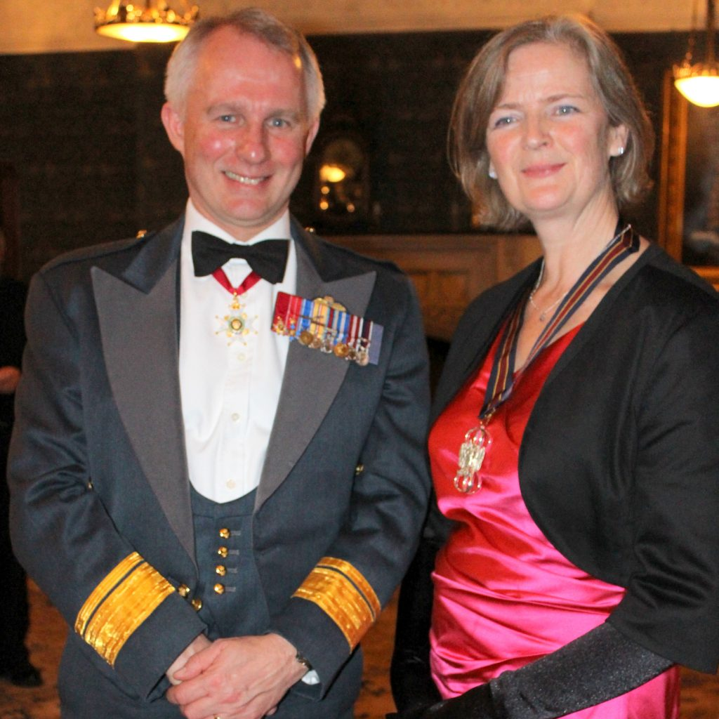 2018 01 30 WCA dinner - Air Vice Marshall Brecht and the IPM