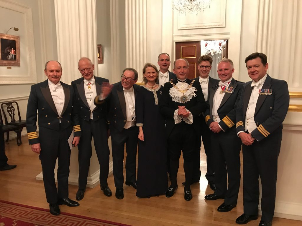 601 Squadron at Mansion House 2018