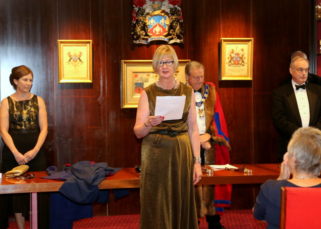 Fiona Morrison, Senior Warden, 12 July 2018