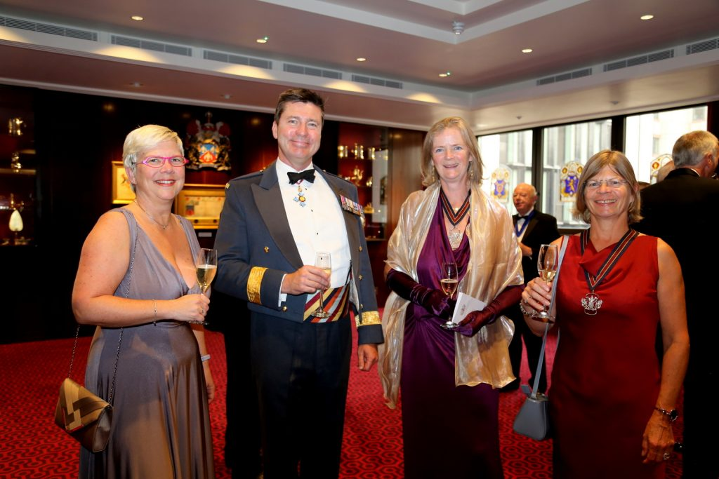 July Installation dinner guests, Nick Bray from 601 Squadron