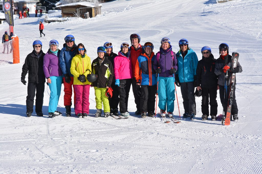 2019 Inter-Livery skiing team