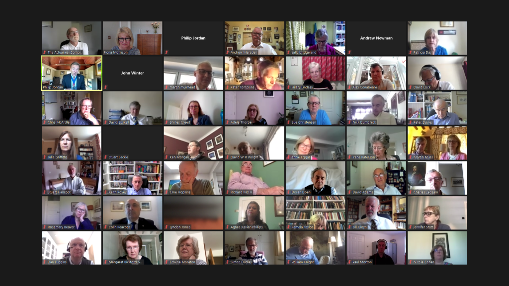 Zoom social meetings June 2020